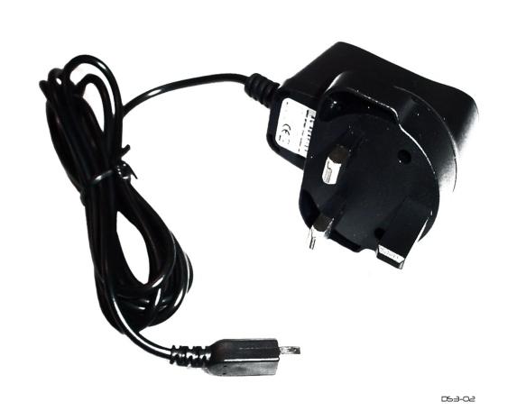 Product Photo/Nintendo Dsi XL 3 Pin UK Mains Adapter/Click to view.