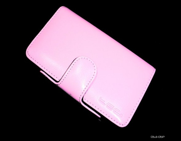 Product Photo/Nintendo Dsi Pink Faux Leather Console Carry Case Bag/Click to view.
