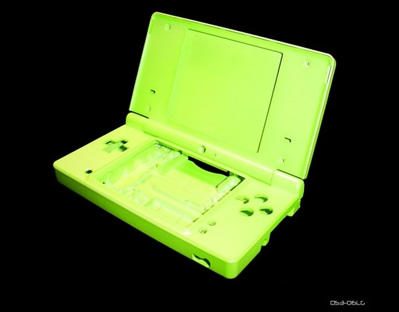 Product Photo/New Nintendo DSi Full Lime Green Console Shell Case UK/Click to view.
