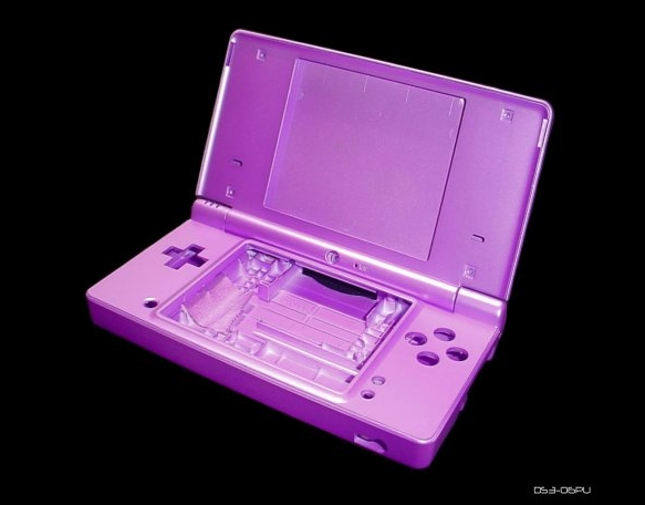 Product Photo/New Nintendo DSi Metalic Purple Console Shell Case UK/Click to view.