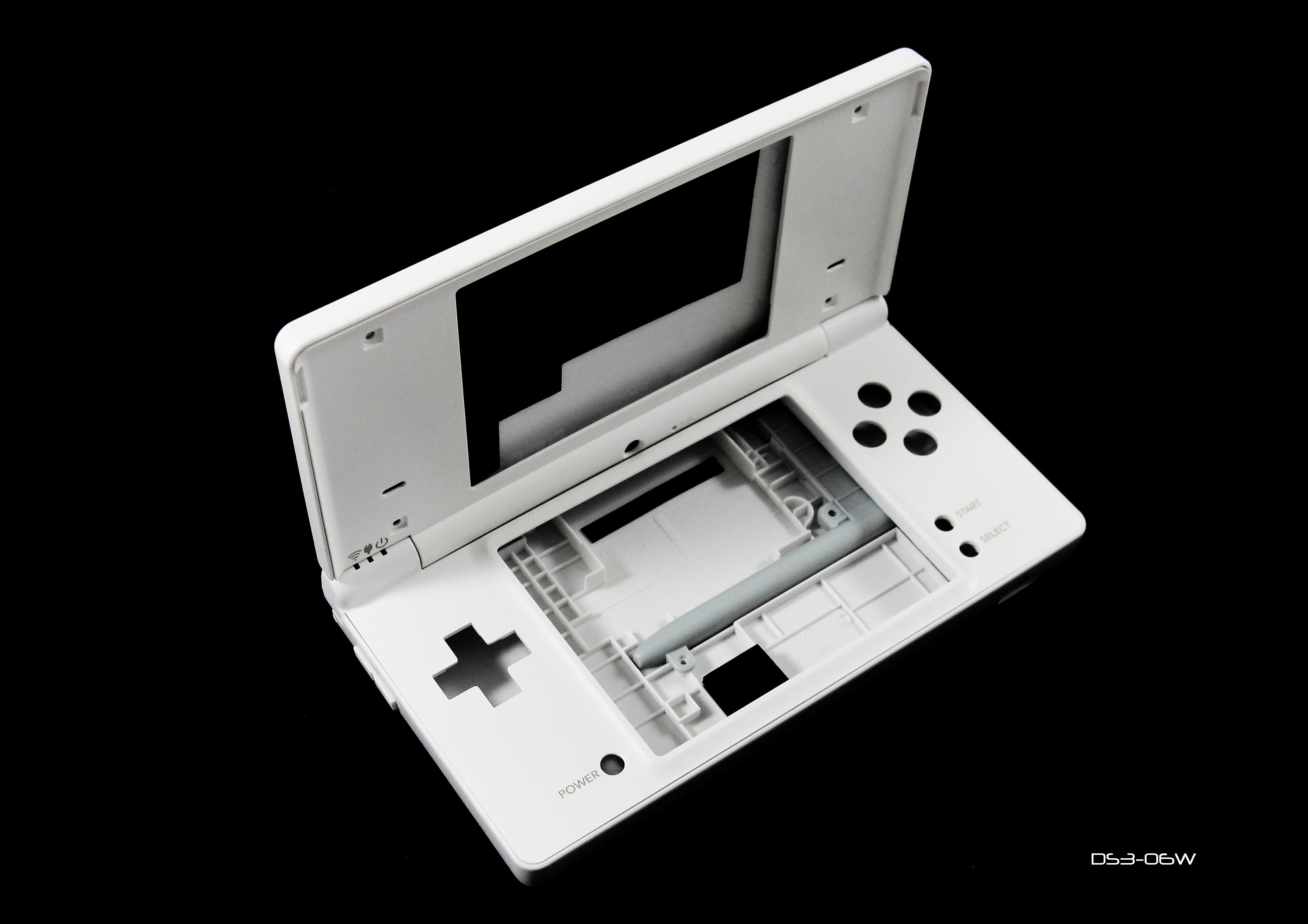 Product Photo/White Replacement Shell Case for Nintendo DSi Console/Click to view.