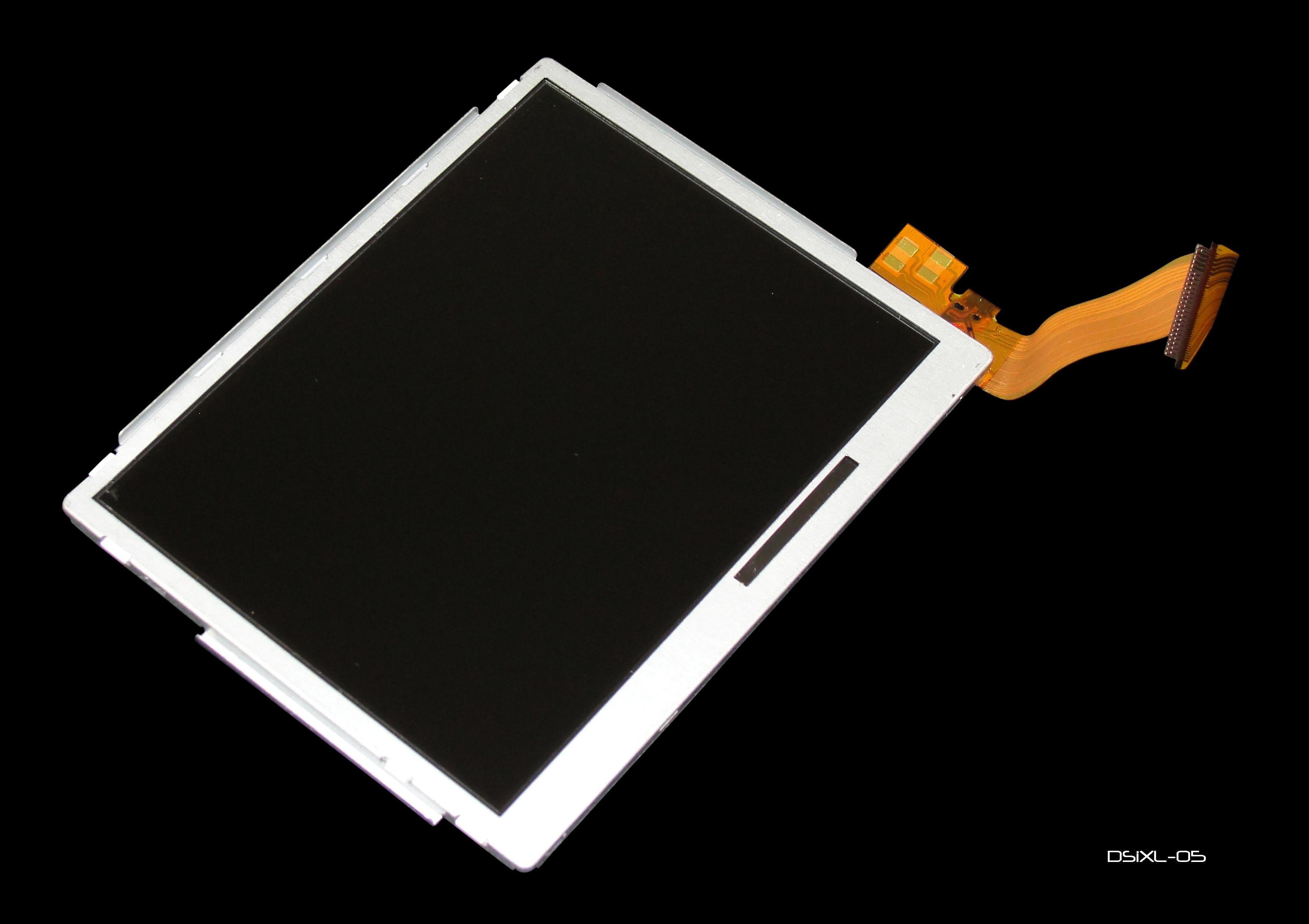 Product Photo/Replacement Top LCD Screen for Nintendo Dsi XL Console/Click to view.