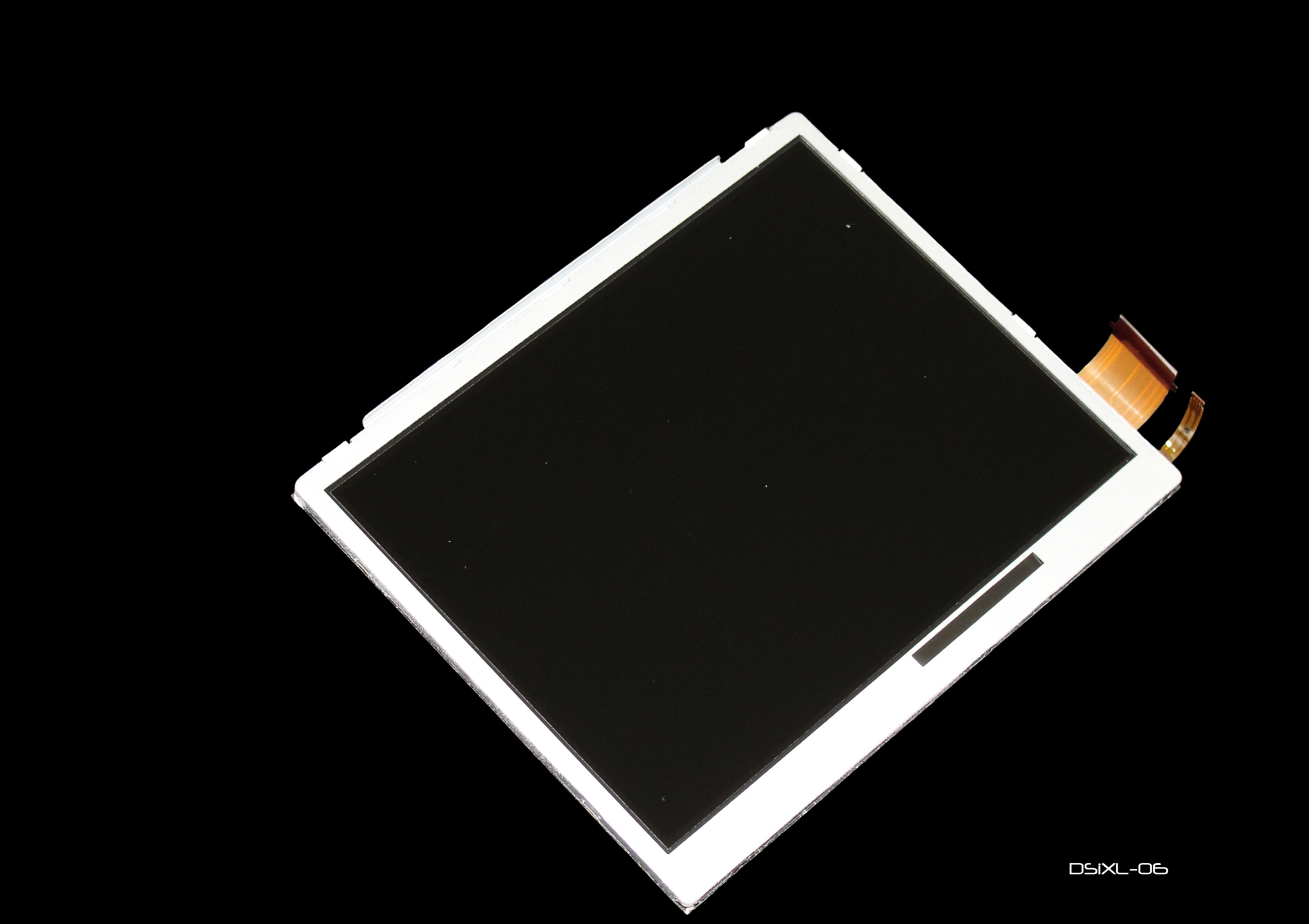 Product Photo/Replacement Bottom LCD Screen 4 Nintendo Dsi XL Console/Click to view.