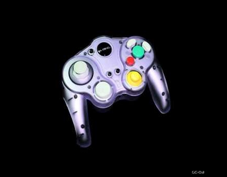 Product Photo/Nintendo Game-Cube & Wii Compatible Wireless Controller/Click to view.