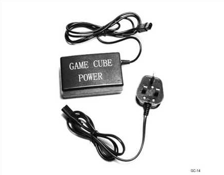 Product Photo/Nintendo Game-Cube 3 Pin UK AC Mains Adapter/Click to view.