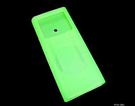 Product Photo/iPod Nano 2nd generation Green Silicon Skin/Click to view.