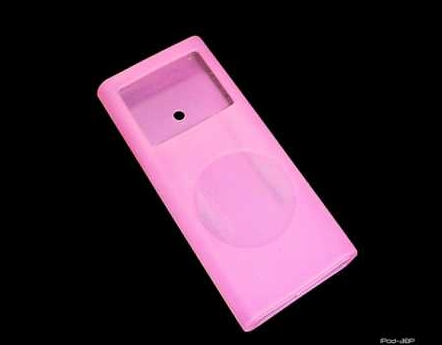 Product Photo/IPod Nano 2nd Generation Pink Silicon Skin/Click to view.