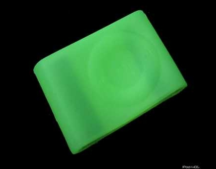 Product Photo/iPod Shuffle 2nd generation Green Silicon Skin/Click to view.