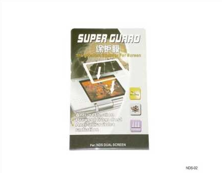Product Photo/Nintendo DS LCD Screen Armour Protector & Guard/Click to view.