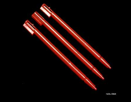 Product Photo/Nintendo DS 3 x Red Replacement Stylus Pens/Click to view.