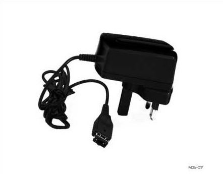 Product Photo/Nintendo DS & Game-Boy Advance 3 Pin UK Mains Adapter/Click to view.