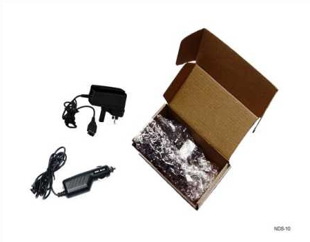Product Photo/Nintendo DS & Game-Boy Advance 3 Pin UK Mains Adapter + In Car Charger Kit/Click to view.