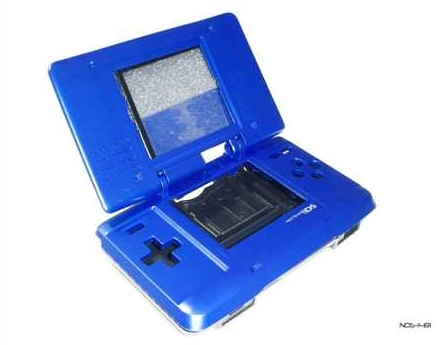 Product Photo/Nintendo DS Metallic Blue Full Replacement Console Shell/Click to view.