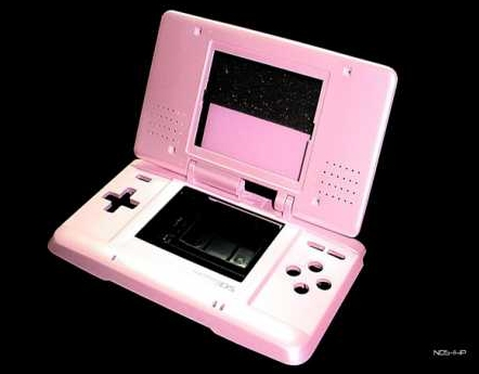 Product Photo/Nintendo DS Metallic Pink Full Replacement Console Shell/Click to view.