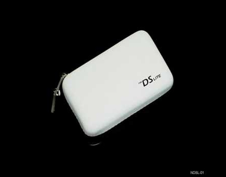 Product Photo/Nintendo DSL Lite - DSi White EVA Air Formed Carry Case/Click to view.