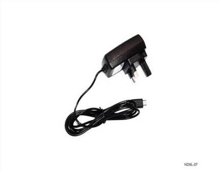 Product Photo/Nintendo DSL Lite 3 Pin UK Mains Adapter/Click to view.