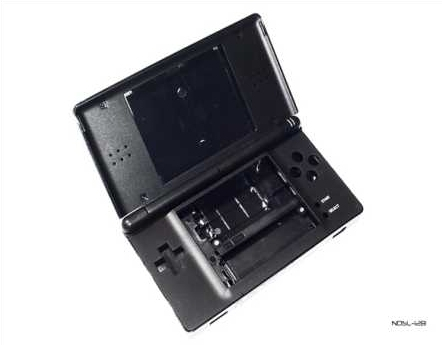 Product Photo/Nintendo DSL Lite Cool Black Full Replacement Console Shell/Click to view.