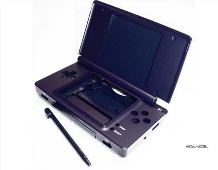 Product Photo/Nintendo DSL Lite Dreamy Blue Full Replacement Console Shell/Click to view.