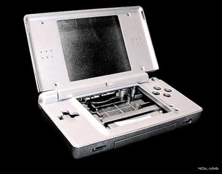 Product Photo/Nintendo DSL Lite Metallic Silver Full Replacement Console Shell/Click to view.