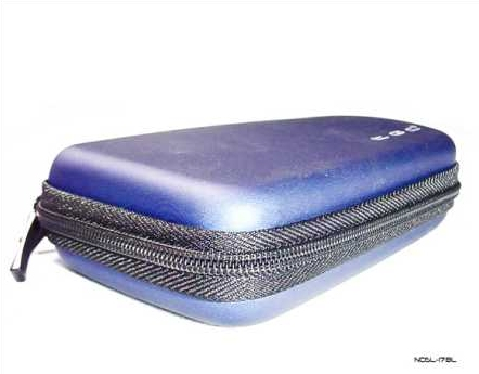 Product Photo/Nintendo DSL Lite Blue EVA Air Formed Console Case/Click to view.