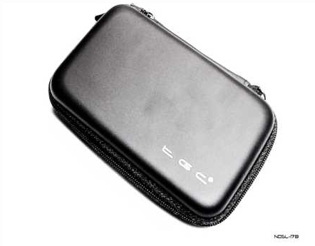 Product Photo/Nintendo DSL Lite Black EVA Air Formed Console Case/Click to view.