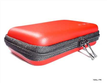 Product Photo/Nintendo DSL Lite Red EVA Air Formed Console Case/Click to view.