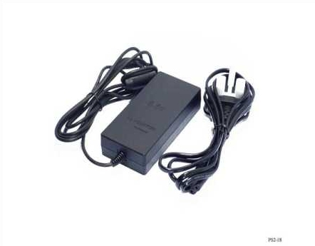 Product Photo/Sony Playstation 2 - PS2 3 Pin UK AC Power Supply for Slim-Line 7XXX Version/Click to view.
