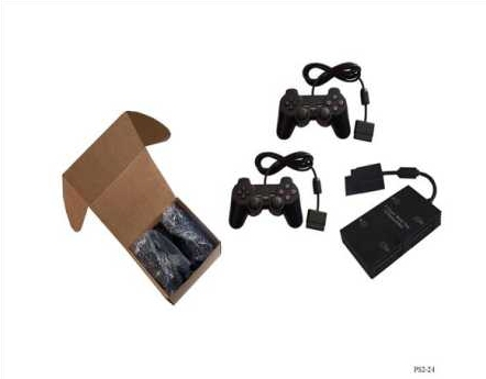 Product Photo/Sony Playstation 2 - PS2 Multi Tap Compatible with ALL Versions + 2 Playstation 2 PS2 Dual Shock Controllers/Click to view.