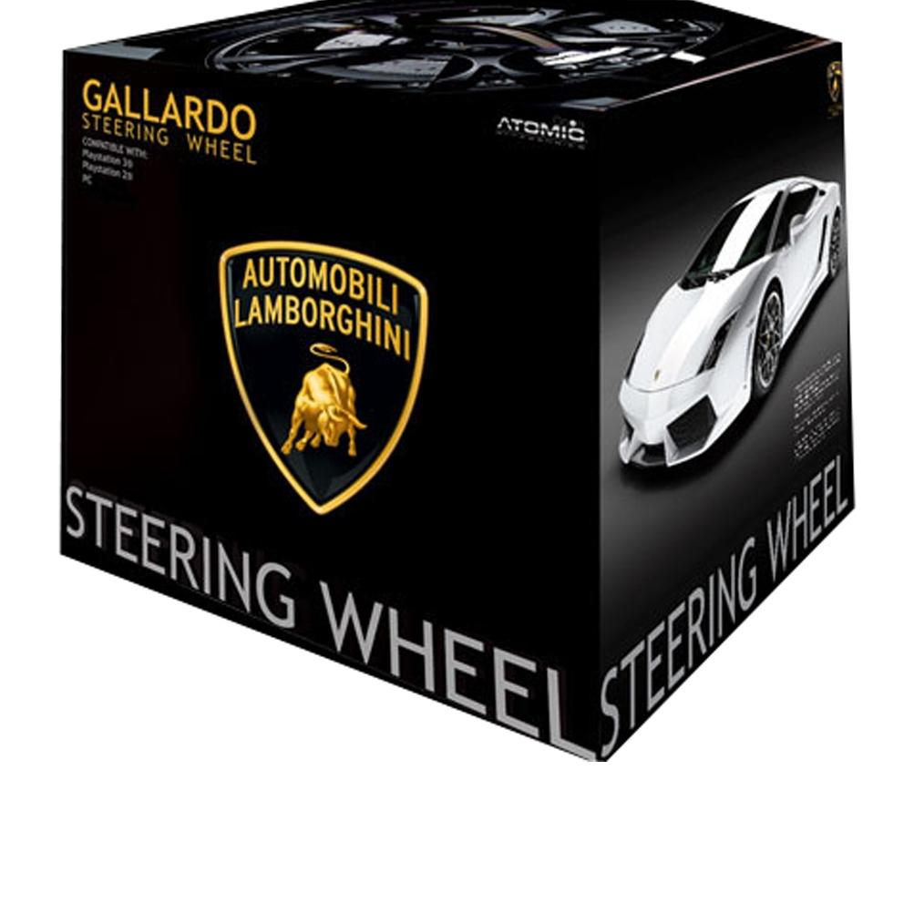 Product Photo/Atomic Gallardo Steering Wheel Lamborghini PS3/Click to view.