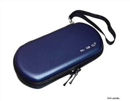 Product Photo/Sony Playstation PSP 1000 - 2000 Slim & 3000 Slim Blue Air Fromed EVA Case/Click to view.