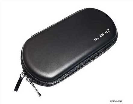 Product Photo/Sony Playstation PSP 1000 - 2000 Slim & 3000 Slim Black Air Fromed EVA Case/Click to view.