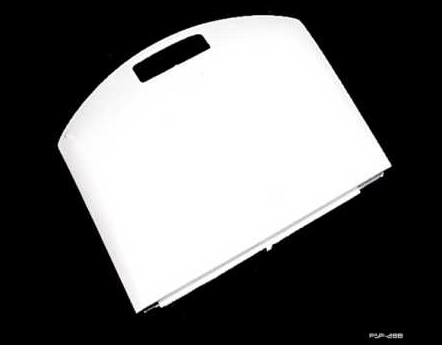 Product Photo/Sony Playstation PSP White Replacement Battery Compartment Cover/Click to view.