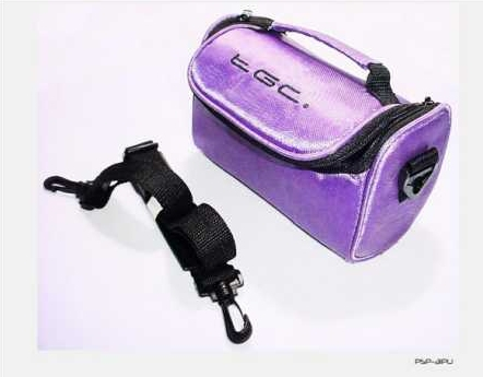 Product Photo/Electric Purple Carry  Bag for Sanyo Outdoor Waterproof VPC-CA100EXBK Camcorder /Click to view.