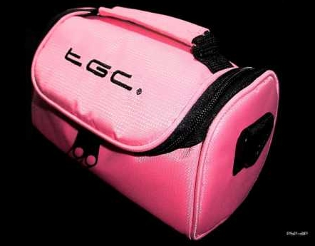Product Photo/Baby Pink Carry Case Shoulder Bag for theToshiba CAMILEO P100 Camcorder /Click to view.