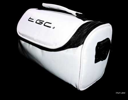 Product Photo/Cool White Carry Case Bag for Sanyo HD / Compact VPC-CG10EXBK-B Camcorder /Click to view.