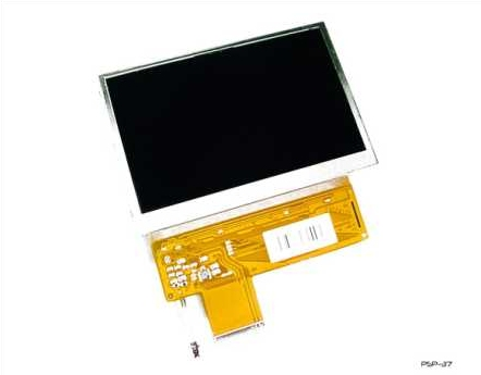 Product Photo/Sony Playstation PSP Back Lit Replacement LCD Screen/Click to view.