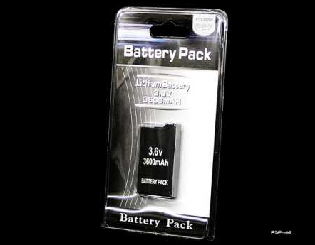 Product Photo/Sony Playstation PSP 2000 Slim & 3000 Slim Replacement 3600 MAH Battery/Click to view.