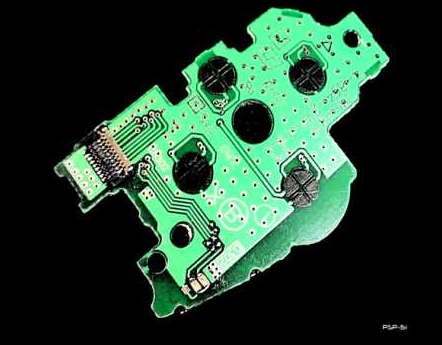 Product Photo/Sony Playstation PSP 1000 OEM Power Switch Circuit Board (1st Generation)/Click to view.