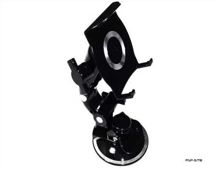 Product Photo/Sony Playstation PSP 2000 Slim & 3000 Slim Black Cobra in Car Suction Holder/Click to view.