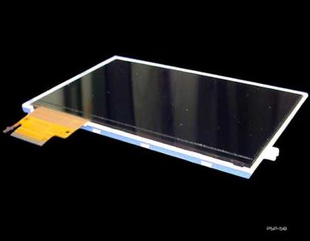 Product Photo/Sony Playstation PSP Slim 2000 Replacement Back Lit LCD Screen/Click to view.