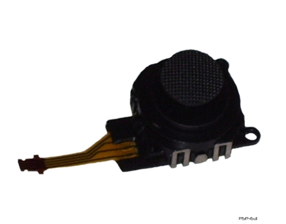 Product Photo/Sony Playstation PSP 3000 Slim 3D Replacement Analogue Stick Assembly kit/Click to view.