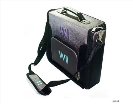 Product Photo/Nintendo Wii Deluxe Console Carry Case Bag/Click to view.