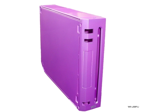 Product Photo/Nintendo Wii Replacement Purple Console Shell/Click to view.