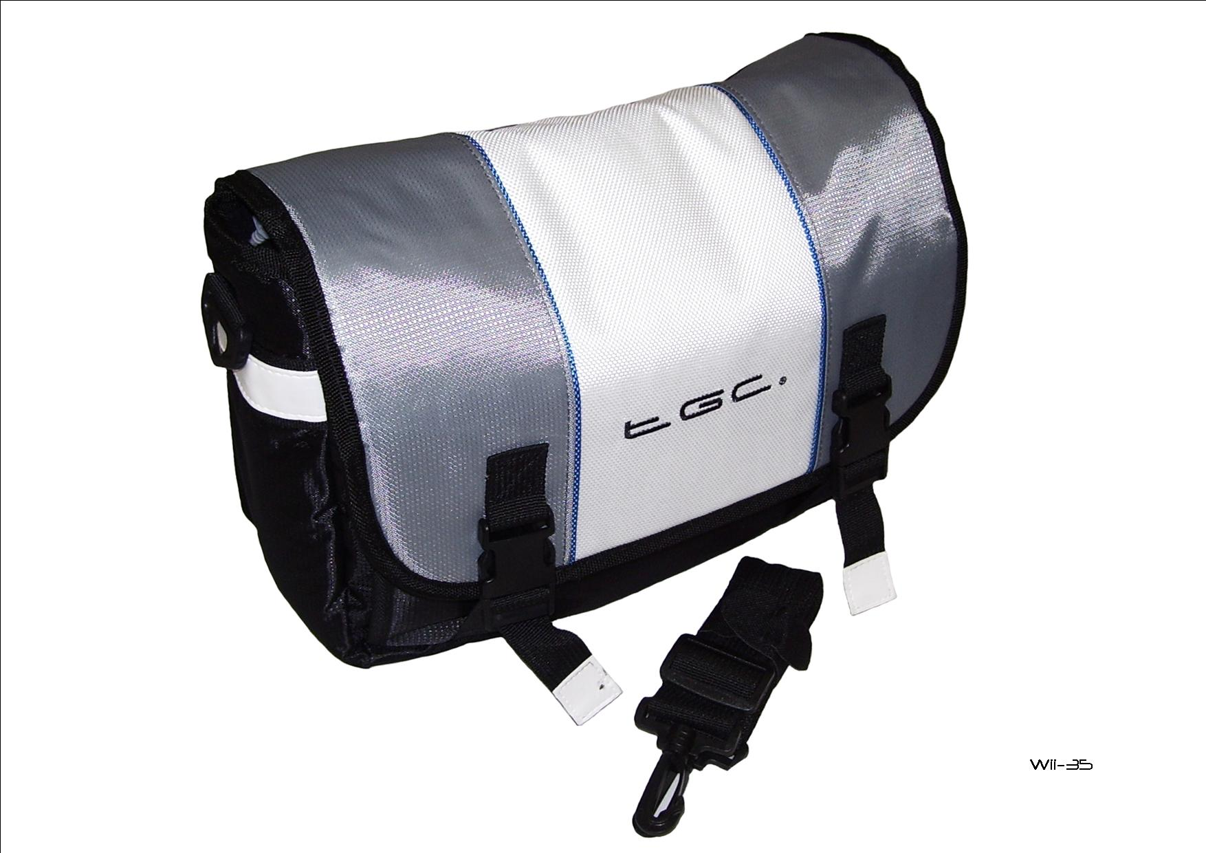 Product Photo/New Messenger Style TGC Padded Carry Case Bag for Portable DVD Players UK Seller/Click to view.
