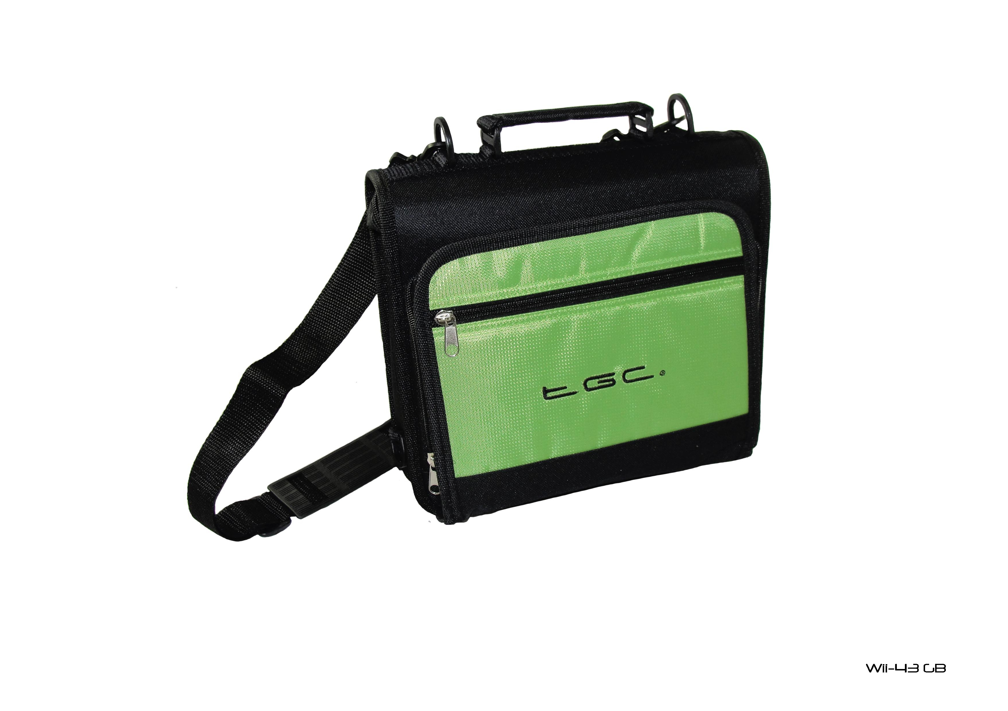 Product Photo/New Green & Black TGC Carry Case Bag  for Apple iPad 2 Tablet & Smart Cover/Click to view.