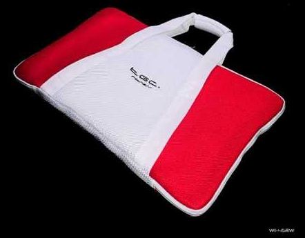 Product Photo/Nintendo Wii Fit TGC © Red & White Balance Board Bag/Click to view.