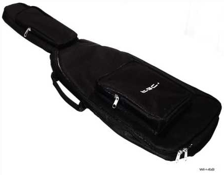 Product Photo/Nintendo Wii TGC © Black Guitar Hero/Rock Band Guitar Bag with shoulder strap/Click to view.