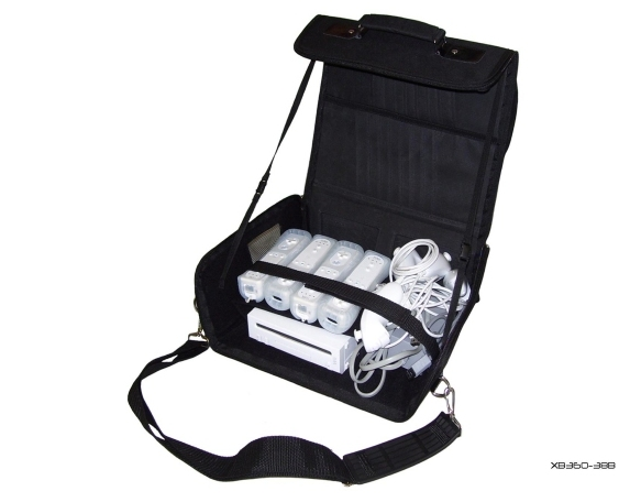 Product Photo/Black Console Carry Bag Case In Car 4 Nintendo Wii/Click to view.