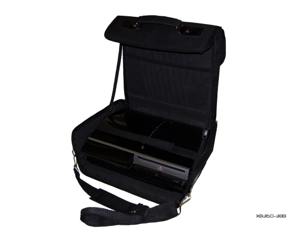 Product Photo/Black Console Carry Bag Case In Car 4 Playstation 3 PS3/Click to view.