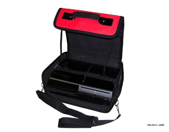 Product Photo/Red Console Carry Bag Case for Playstation 3 Slim PS3/Click to view.